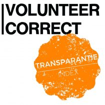 Transparantie index volunteer pagina